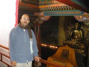 Myself at Norbulingka Institute of Tibetan Culture, Dharamsala, Himachal Pradesh